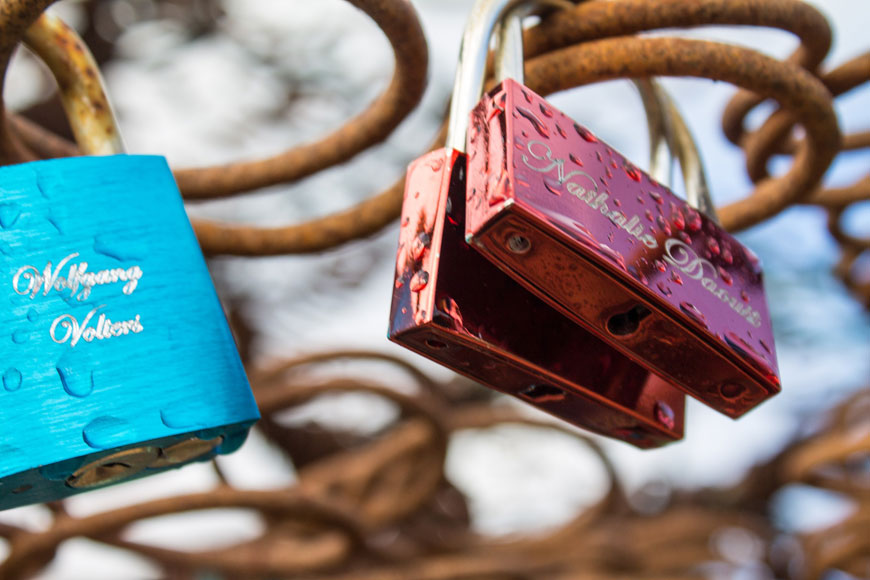 Beaulieu Love Locks
