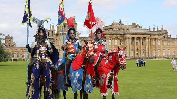 Jousting at Blenheim Palace