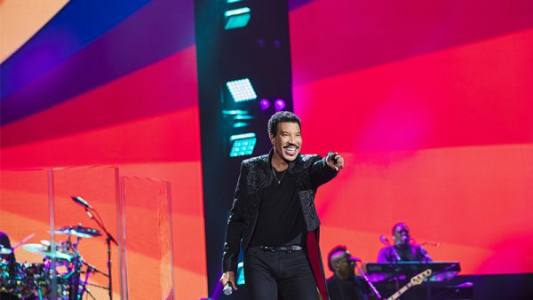 Lionel Richie at Holkham Hall