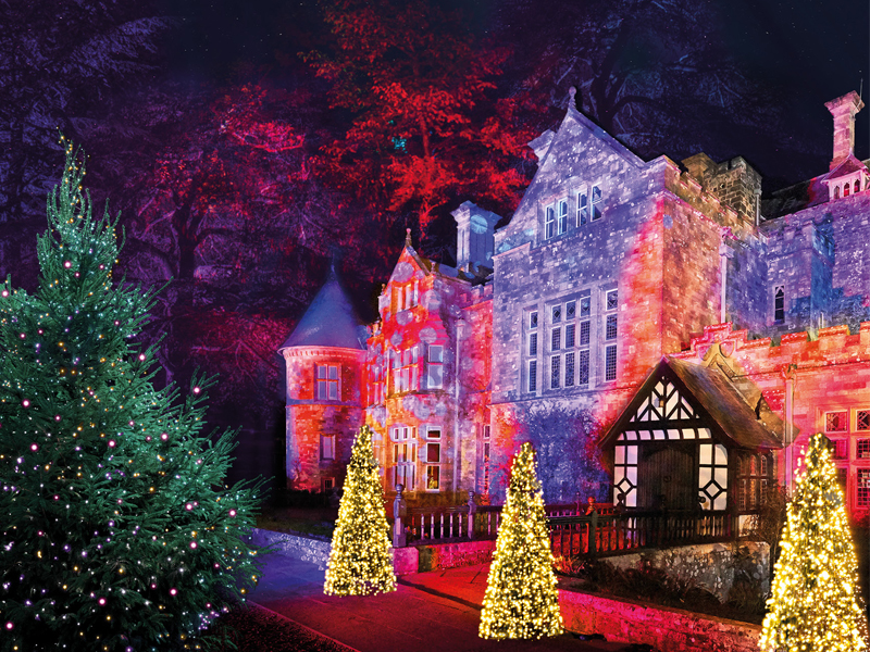 Christmas In England.New For 2018 Christmas Comes Alive At Beaulieu Treasure