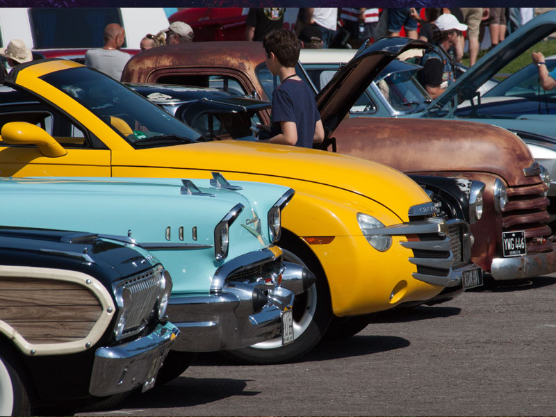 Andy Saunders\' The Art of Kustom Launch at Hot Rod & Custom Drive-In ...