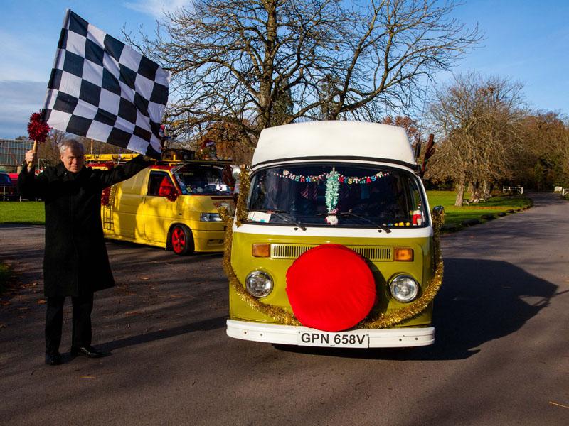 Southampton Motor Cars >> Lord Montagu to Start VW Santa Run to Hospital - Treasure Houses of England